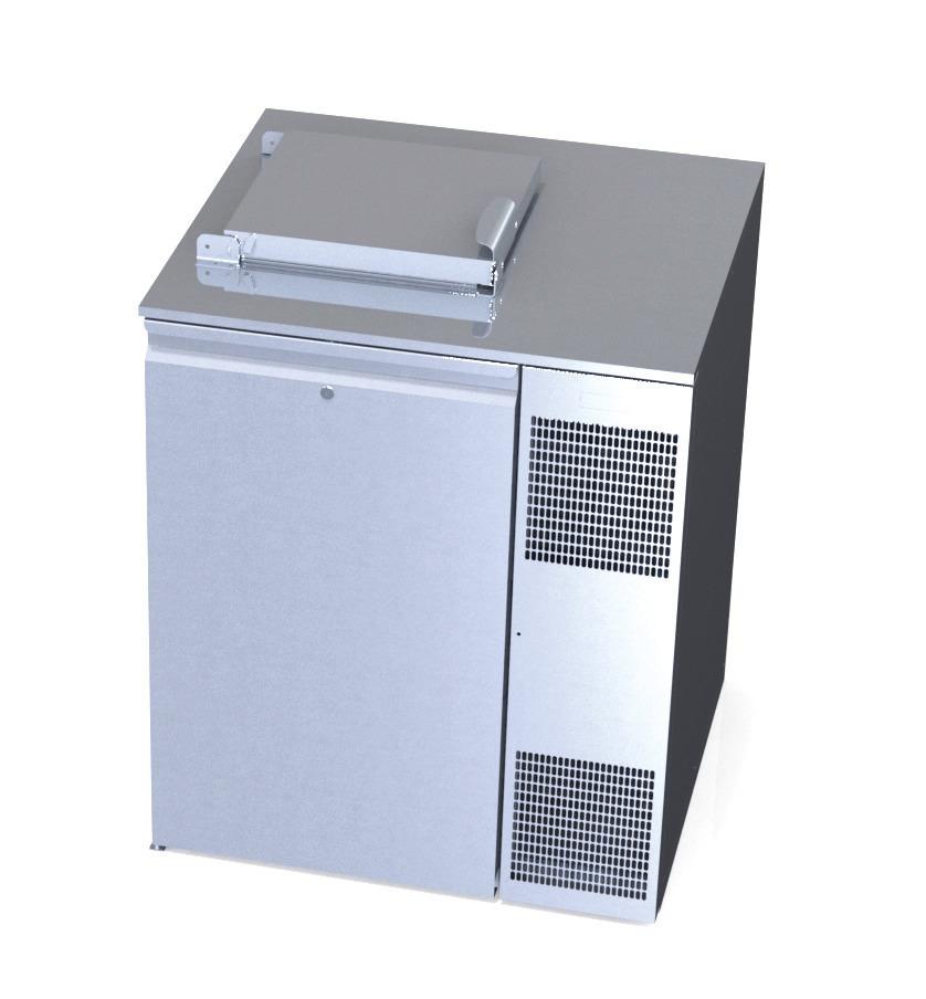 Konfiskatkühler für 1 x 120 oder 240 l Abfallkühler mit Winterheizung