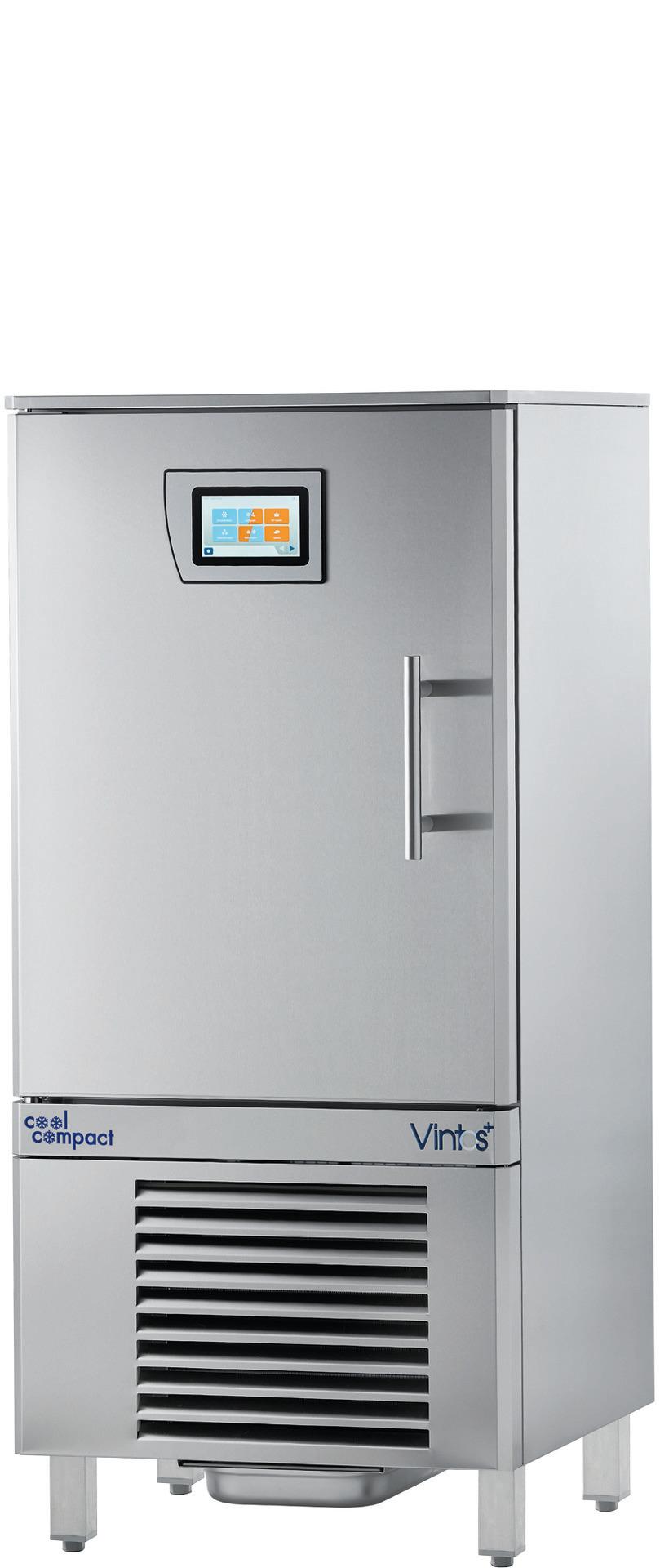 Schnellkühler / Schockfroster 10x GN 1/1 Quereinschub / steckerfertig