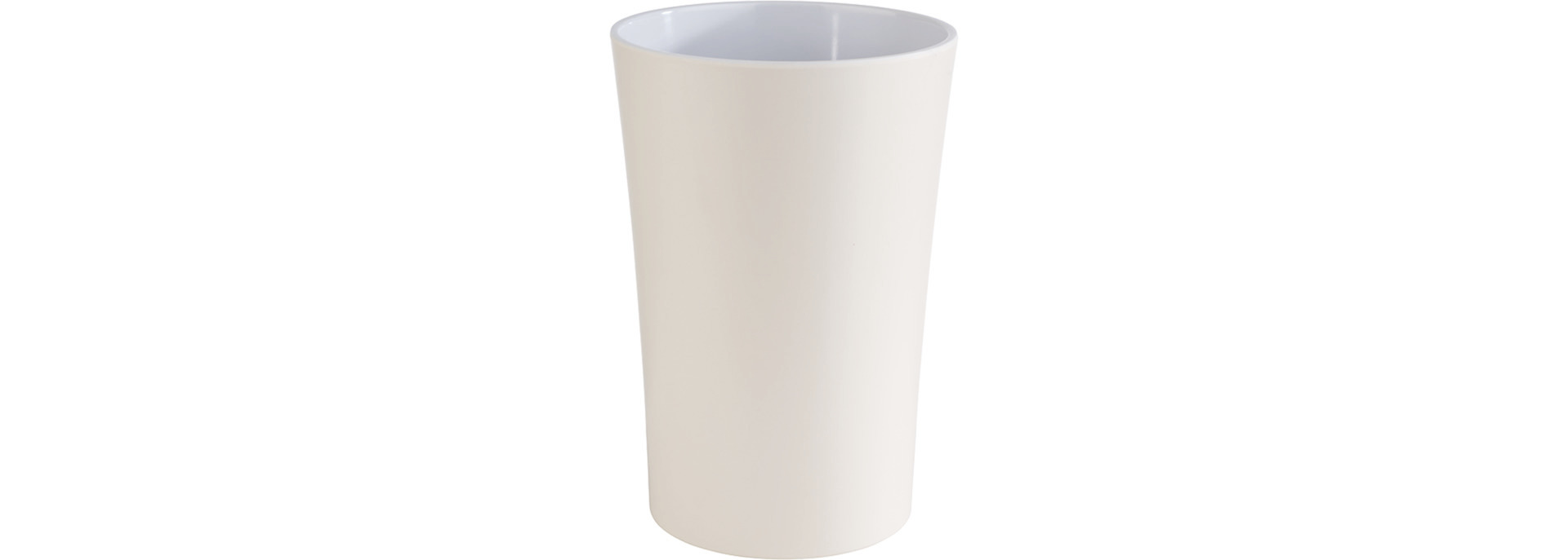 Dressingtopf 1,50 l / 130 x 130 x 195 mm Melamin beige
