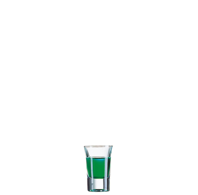 Schnapsglas 45 mm / 0,04 l transparent