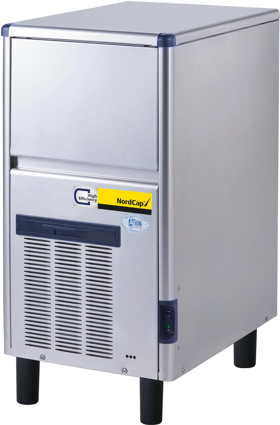 Eiswürfelbereiter SDE 40 W / 10,00 kg Vorrat / 36,00 kg/24h / Wasserkühlung