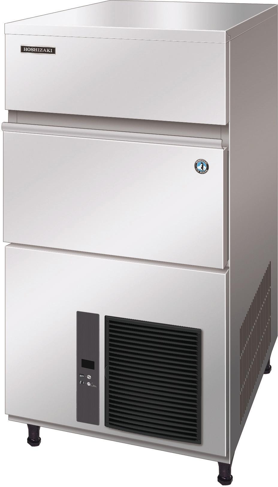 Eiswürfelbereiter 100,00 kg/24h /  50,00 kg Vorrat / Luftkühlung / M-Würfel