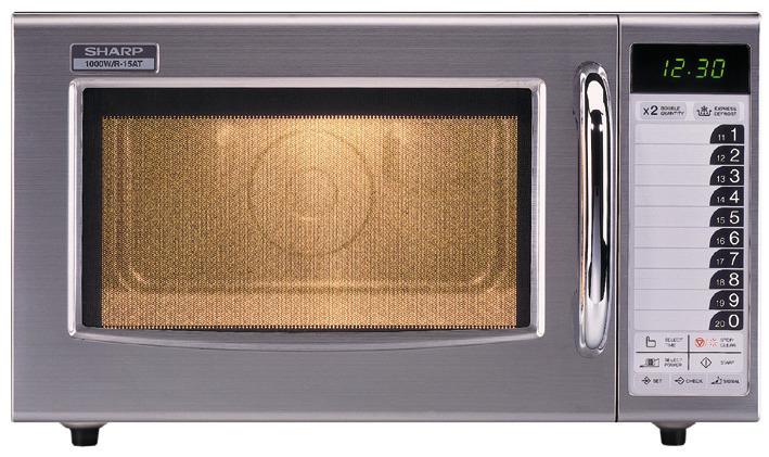 Gewerbe-Mikrowelle R-15AT 1000 Watt 520 x 424 x 309 mm