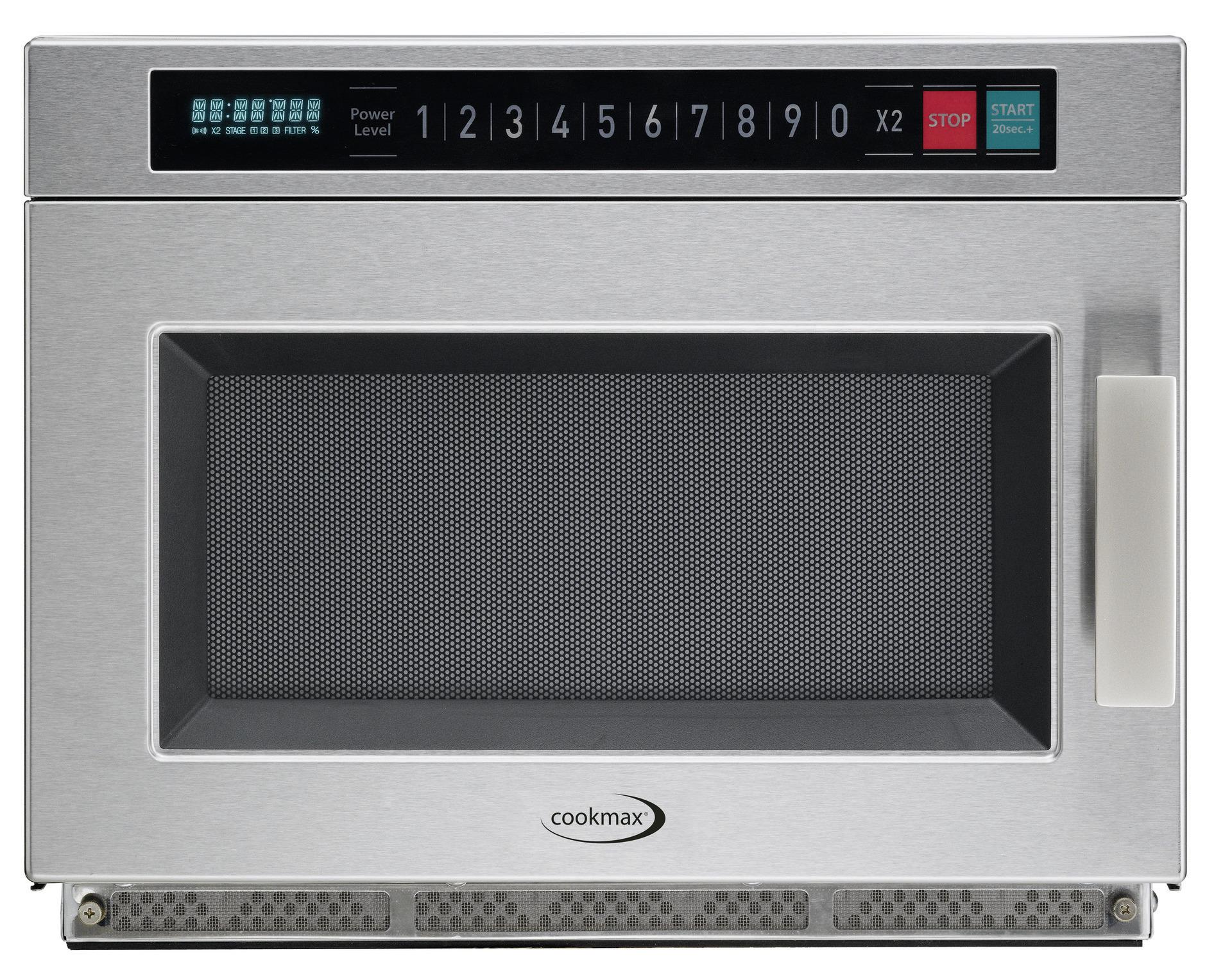 Gewerbe-Mikrowelle, Automatik, 1.800 W, 27 l, 465 x 587 x 370 mm