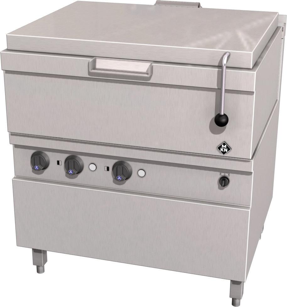 Elektro-Kippbratpfanne 62,00 l GN 2/1 Motorkippung / Optima 700