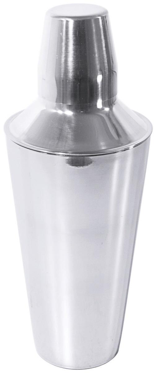 Cocktailshaker Cobbler 3-tlg. 0,80 l / 260 mm hochglänzend