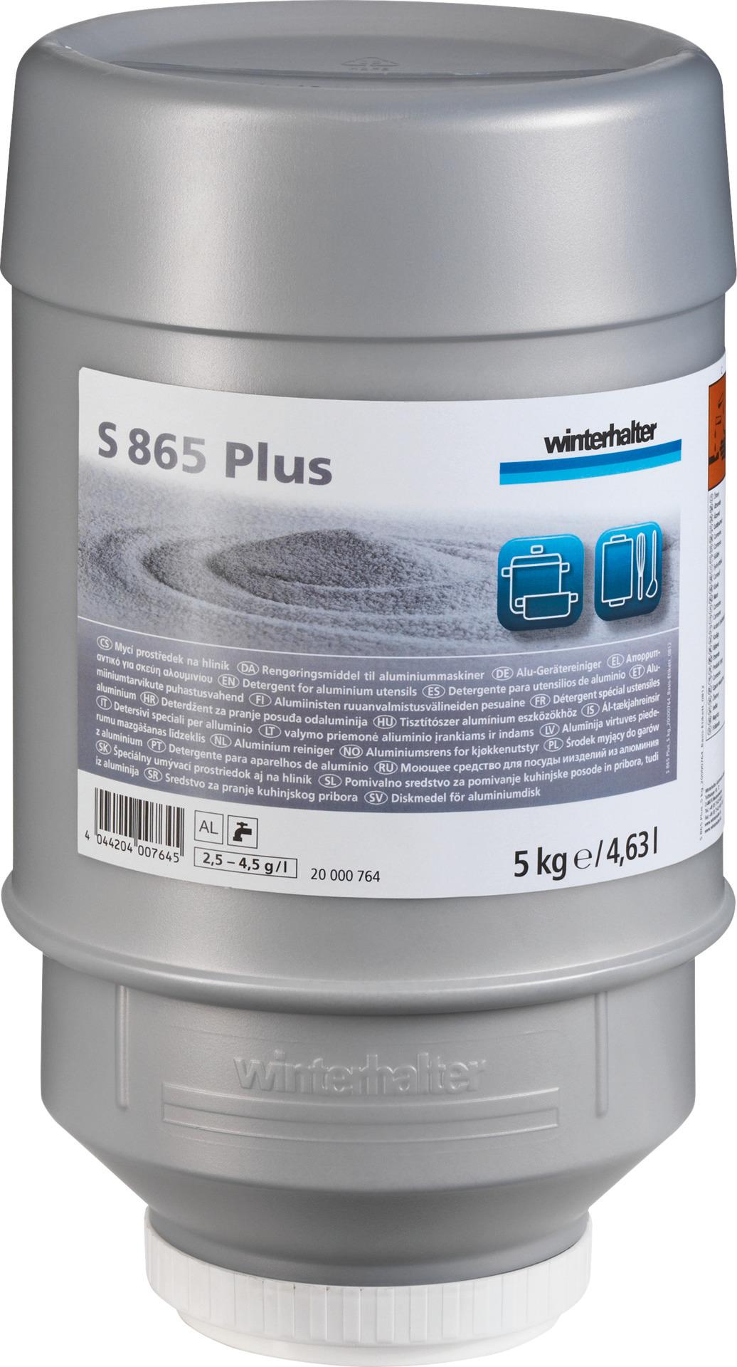 Alu-Gerätereiniger S 865 Plus / 10,00 kg / Karton je 2 Kartuschen
