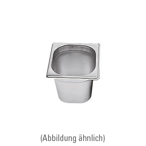 GN-Behälter GN 1/6 176 x 162 x 65 mm Edelstahl