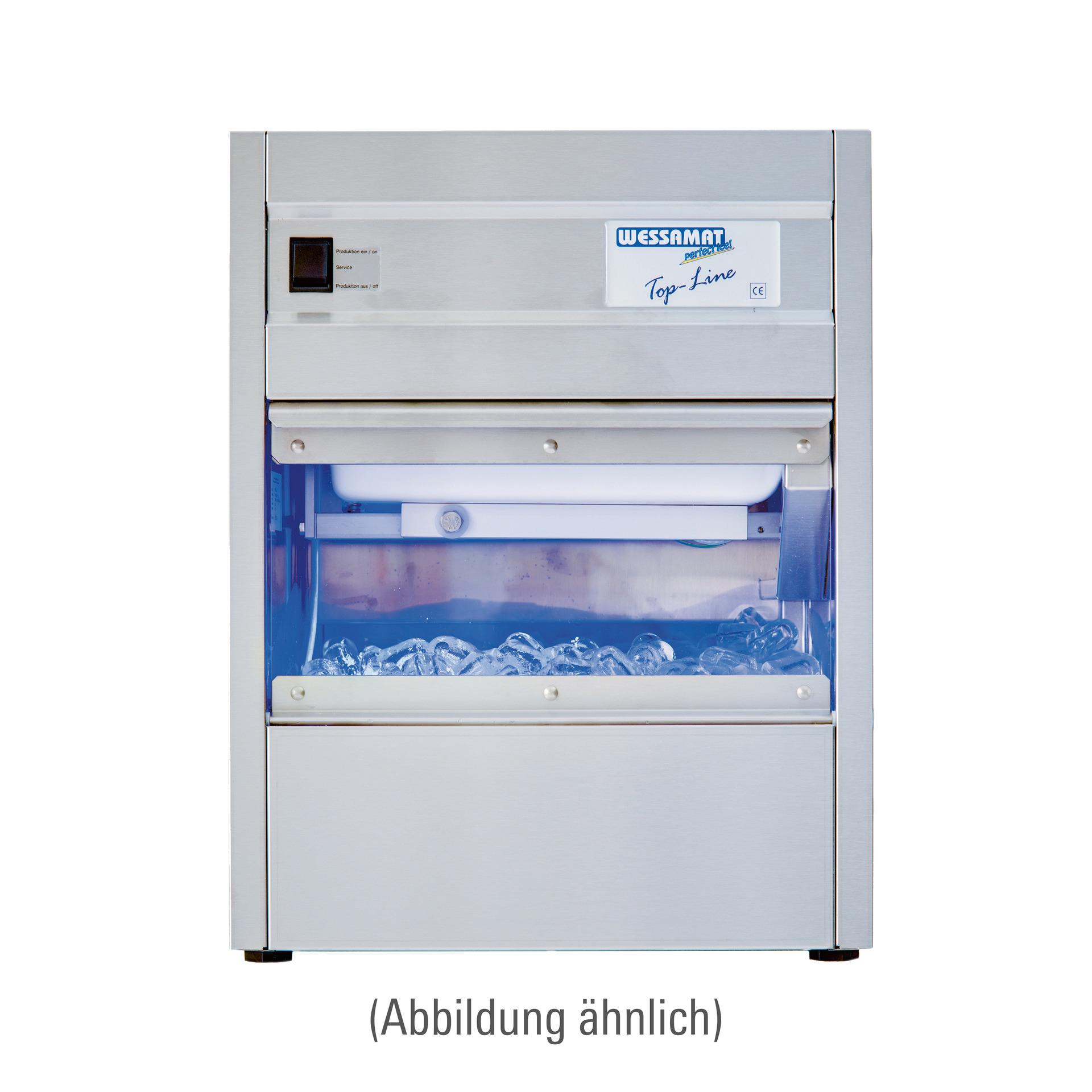 Eiswürfelbereiter W 51 L / 55,00 kg/24 h / 29,00 kg Vorrat / Luftkühlung