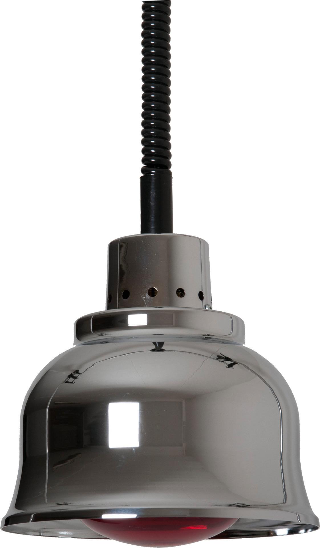 Wärmestrahler Chrom Infrarot 250 W ø 225 mm H 850-1900 mm