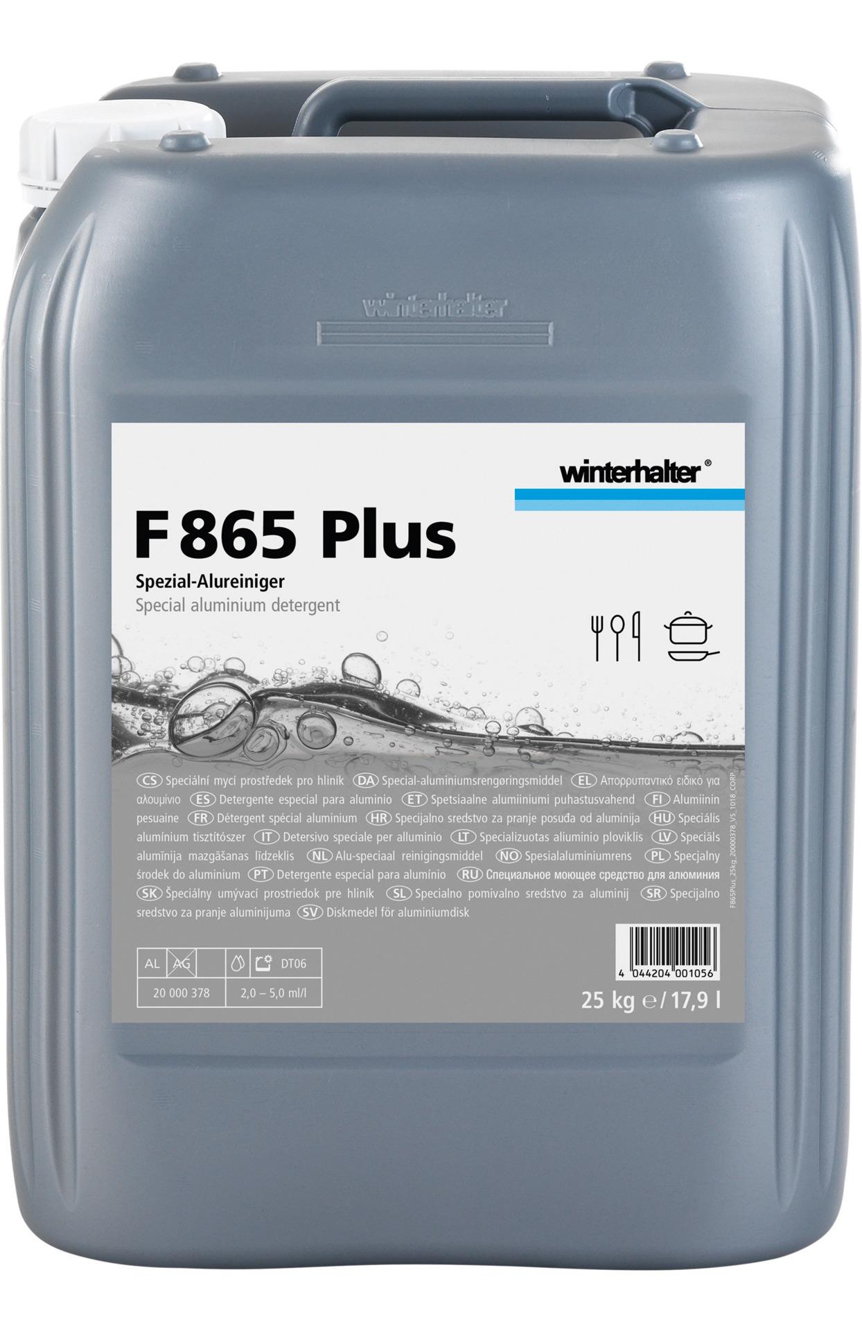 Alu-Gerätereiniger F 865 Plus / 25,00 kg Kanister