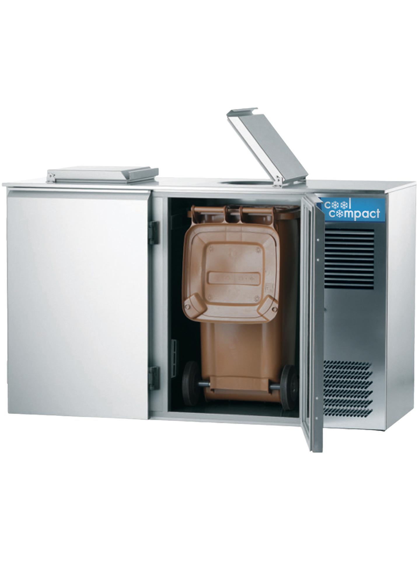 Abfallkühler für 2 x 120,00 l / 0,08 kW / zentralgekühlt