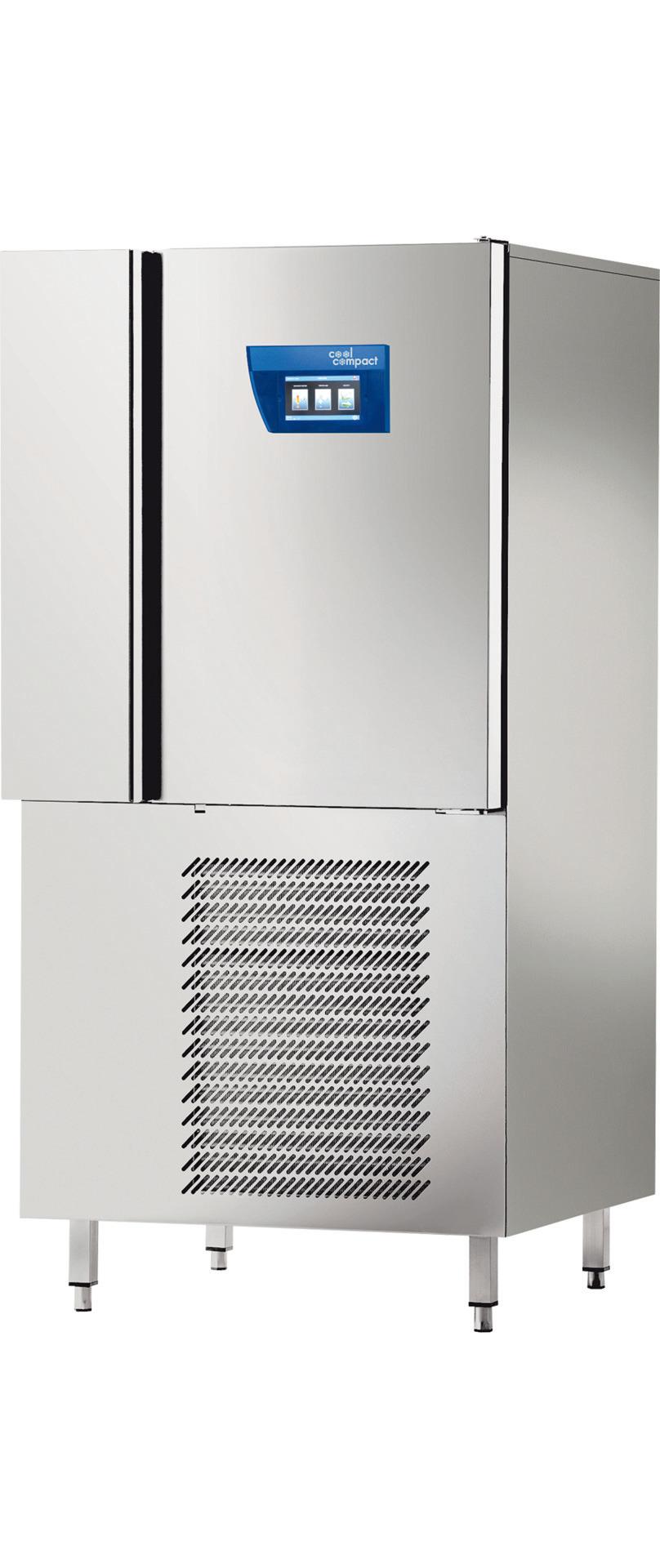 Schnellkühler / Schockfroster 10x GN 1/1 Längseinschub / zentralgekühlt