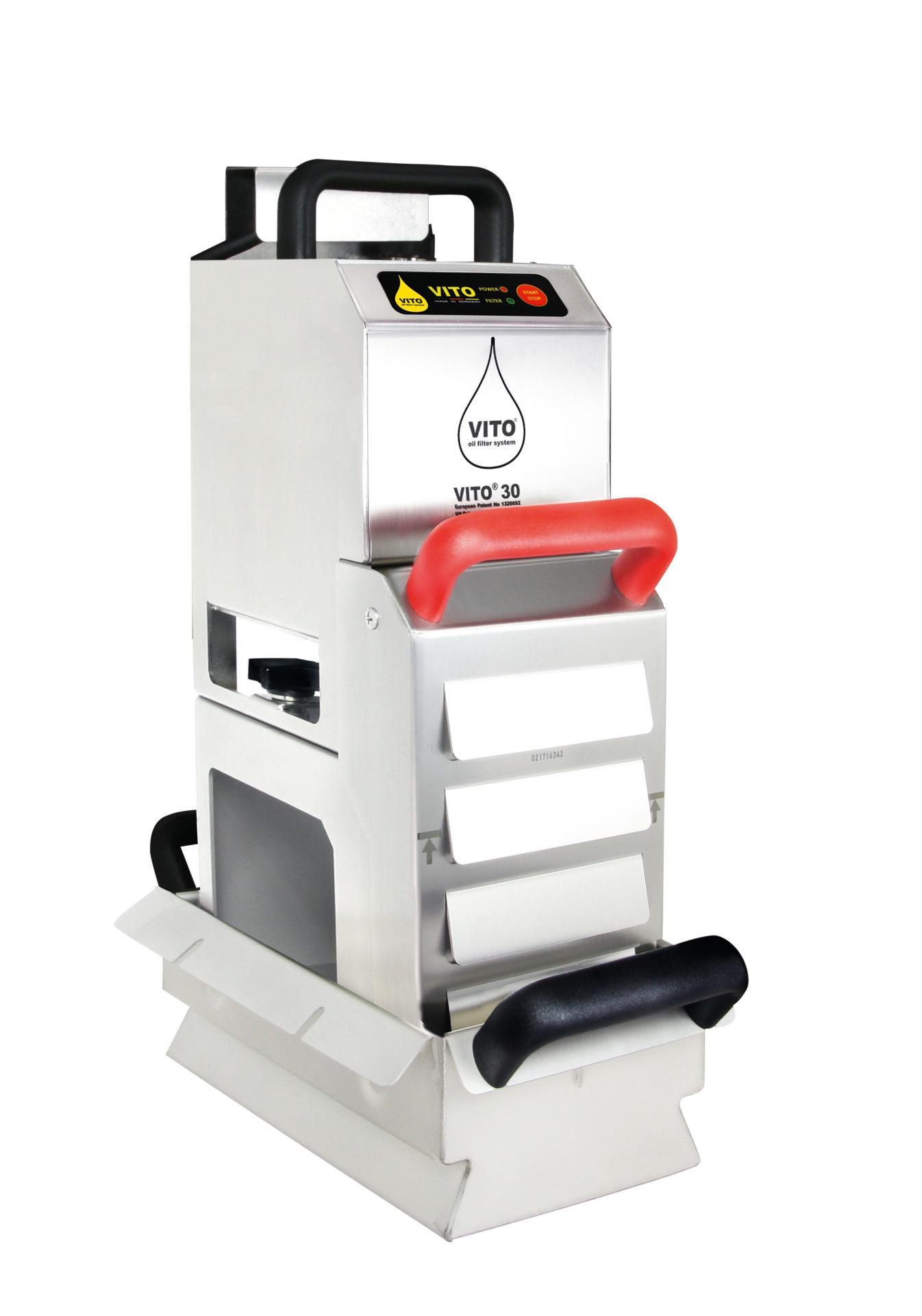Frittierölfilter Vito 30 / Leistung bis zu 30,00 l/min. / Sogtiefe bis 200 mm