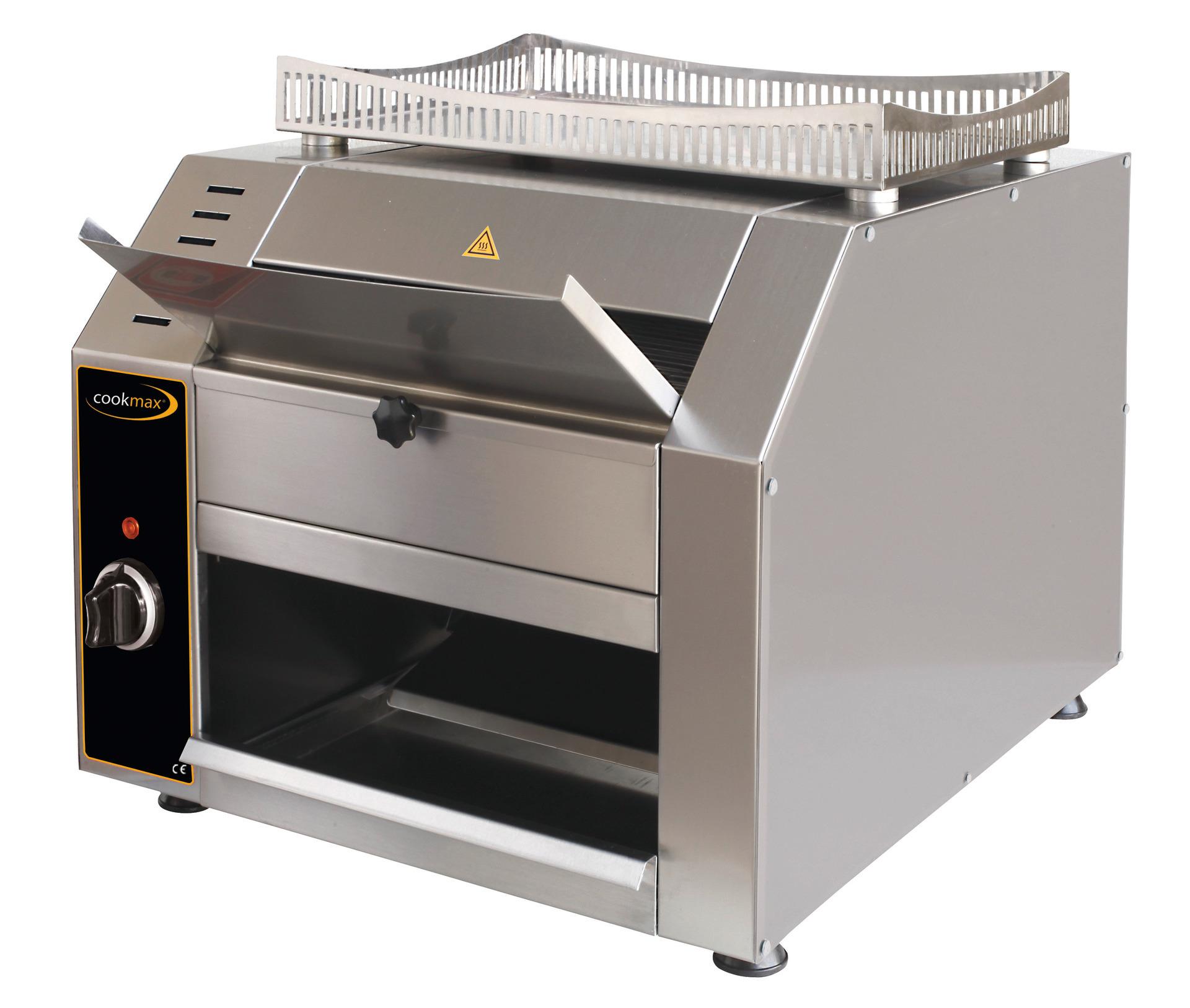 Durchlauftoaster für 144 Toast/h 480 x 440 x 440 mm